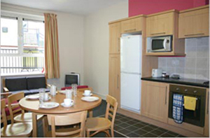 The Spires Spacious Kitchen / Dining Area