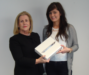 iPad 3 Winner - Zoe O'Connor